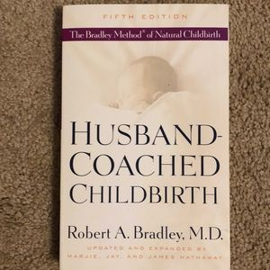 Husband-Coached Childbirth Bradley Method book